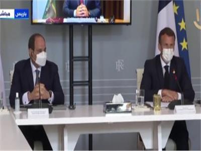 قمة مصرية فرنسية أردنية بشأن التطورات في الأراضي الفلسطينية