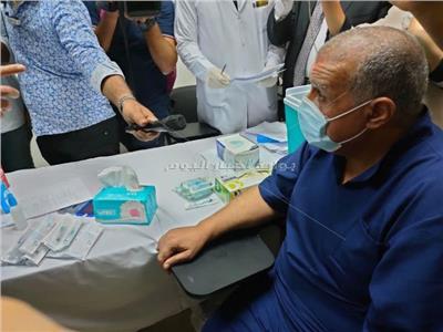 صورة من حملة التطعيم