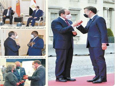مقابلات الرئيس السيسي برؤساء الدول الأوروبية والأفريقية