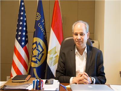 الدكتور «إيهاب عبدالرحمن» الرئيس الأكاديمي للجامعة الأمريكية بالقاهرة
