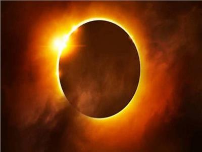 """بث مباشر  ظاهرة كسوف الشمس النادر """"حلقة النار"""""""