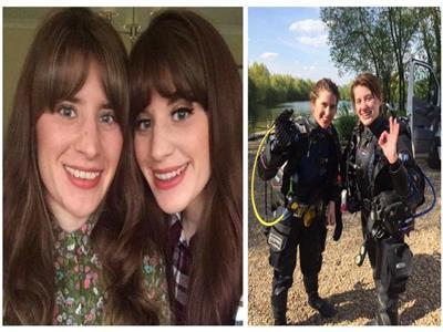 بريطانية تنقذ شقيقتها التوأم من بين فكي التمساح