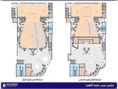 قريبا مسرح «دولت أبيض» بجامعة القاهرة