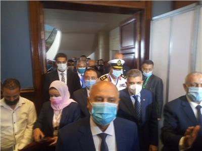 رئيس الأكاديمية العربية يكرم وزير النقل