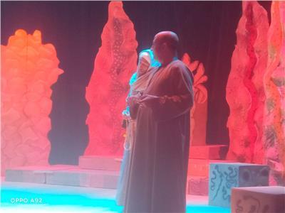 عرض مسرحى لفرقة قنا القومية