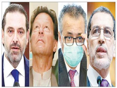 سعد الدين العثمانى وجيبريسوس وعمران خان وسعد الحريرى