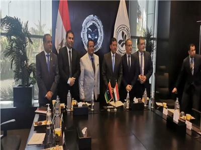 تعاون جاد بين الاستثمارات المصرية والليبية  في المرحلة المقبلة.. صور