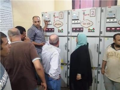 رئيس «كهرباء القناة» يتابع إجراءات الاستجابة لشكاوى المواطنين بالشرقية|صور