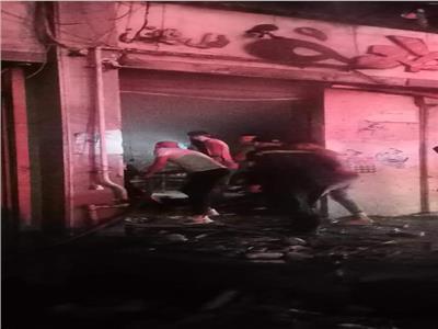 حريق شب داخل مطعم بالوايلي