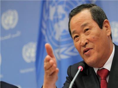 الممثل الدائم لكوريا الشمالية لدى الأمم المتحدة كيم سونج