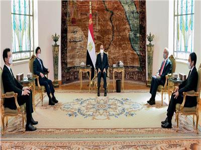 السيسي: نسعى لزيادة الاستثمارات المصرية في جنوب السودان