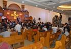محافظ المنيا يفتتح أعمال إعادة بناء الكنيسة الإنجيلية ببني مزار