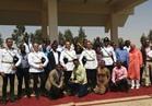 وفد الإذاعيين الأفارقة في زيارة لأكاديمية الشرطة