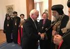 رئيس ألمانيا يستقبل البابا تواضروس