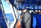 الرئيس السيسي يشهد المناورة التكتيكية للقوات البحري