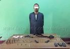 القبض على مزارع يتاجر في الأسلحة والذخيرة بأسيوط