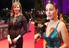 صور | ميس حمدان وإيمي سالم أول الحضور بمهرجان جوائز السينما العربية