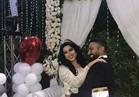 شاهد.. زفاف سمية الخشاب وأحمد سعد