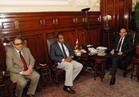 وزير الزراعة يبحث مع المنظمة العربية موقف المشروعات المشتركة