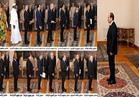 الرئيس السيسي يتسلم أوراق اعتماد 16 سفيراً جديداً لبلادهم بالقاهرة