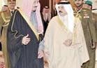 خادم الحرمين يستقبل ملك البحرين بجدة