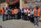 الوايلي يرفع كفاءة 6 شوارع ومدرسة بمشاركة شباب الحي