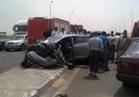 المرور يرفع آثار حادث «دائري المعتمدية»