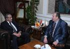 رومانيا تطلب من وزير التموين زيادة واردات القمح لمصر