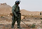 مهندسو الألغام الروس ينظفون 36 هكتارا في دير الزور