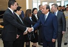اليوم.. السيسى يلتقي شركتين فرنسيتين.. ومباحثات رسمية في «الإليزيه»