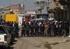 ١٠ سيارات إسعاف لاخماد حريق مصنع البويات بالإسكندرية