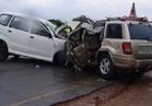 إصابة 6 مجندين  وسائق في حادث تصادم  على الطريق الدولي العريش \القنطرة