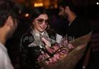 صور | هيفاء وهبي في الجامعة الأمريكية لمتابعة تجهيزات حفلها