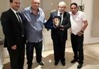 الزمالك يكرم رئيس الاتحاد الإفريقي لكرة اليد بتونس