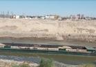 الري: إنقاذ قاطرة محملة بالفوسفات من الغرق في أسيوط