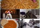 صور.. المصريون يستقبلون الشتاء بالمحشي والسحلب وغطاء السيارة !