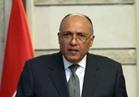 سامح شكري يبحث مع نظيره العراقي تطورات الأوضاع في كركوك