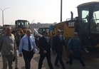 الرقابة الإدارية تجري تجربة عملية لإدارة أزمة السيول ببني سويف