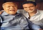 آسر ياسين يحتفل بنصر أكتوبر بصحبة جده أحد أبطال الحرب