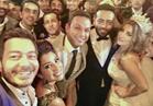 بالصور.. نجوم الفن في حفل زفاف تامر عاشور