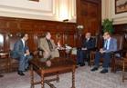 «البنا» يبحث مع سفير رومانيا بالقاهرة سبل التعاون الزراعي