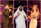 صور لم ترها للوزراء والنجوم في حفل «الماسة» بالعاصمة الإدارية