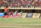انطلاق الشوط الثاني لمباراة غانا وأوغندا