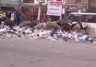 """صور..""""القمامة"""" تحتل شوارع شبرا الخيمة..والصناديق المخصصة مرفوعة من الخدمة"""