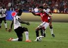 انطلاق مباراة مصر وغانا