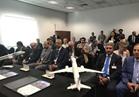 وزير الطيران يشهد توقيع صفقة مصر للطيران و بومباردييه الكندية