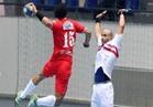 الأهلي يتقدم على الزمالك في الشوط الأول من قمة كرة اليد