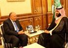 التفاصيل الكاملة للقاء وزير الخارجية وولي العهد السعودي