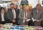 افتتاح معرض الكتاب الإفريقي بجامعة أسوان