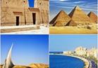 صور| أبرز المعالم والمدن السياحية في مصر